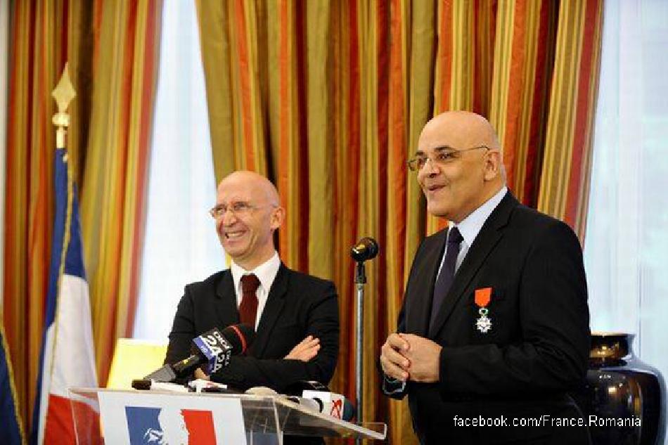 Румунський лікар нагороджений Францією