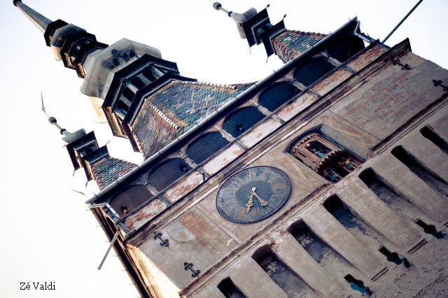 torri dell'orologio in transilvania