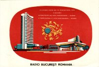 "QSL 1971 ""Hotel Intercontinental und Nationaltheater"""
