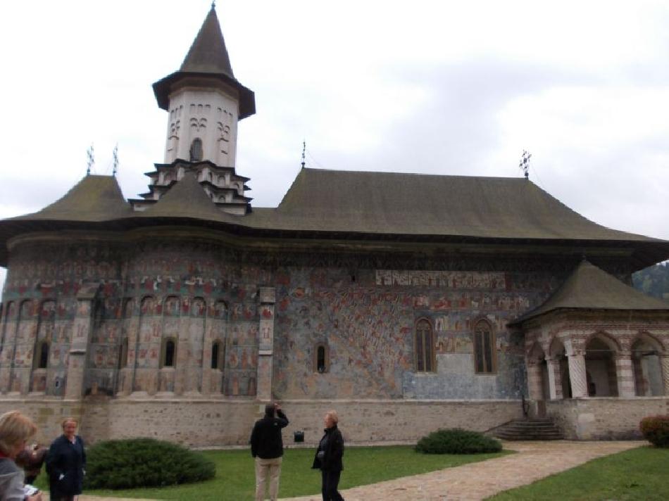 al monastero di sucevita