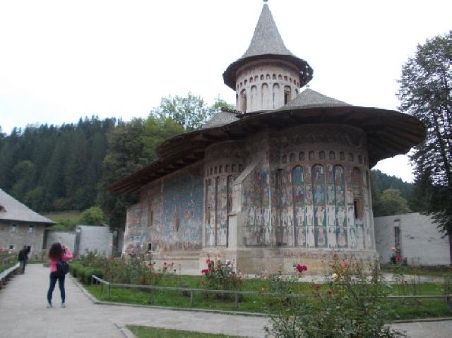 la tappa voronet - monastero di humor - cacica