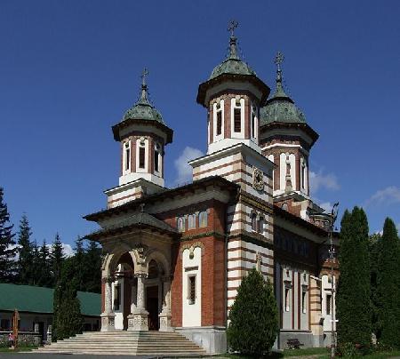 Монастир Сіная  - собор у Карпатах