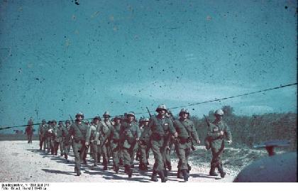 Румынские пленные в СССР после Второй Мировой Войны
