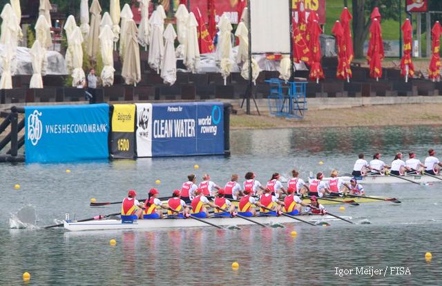 Команда Румунії виграла «золото» ЧЄ з академічного веслування