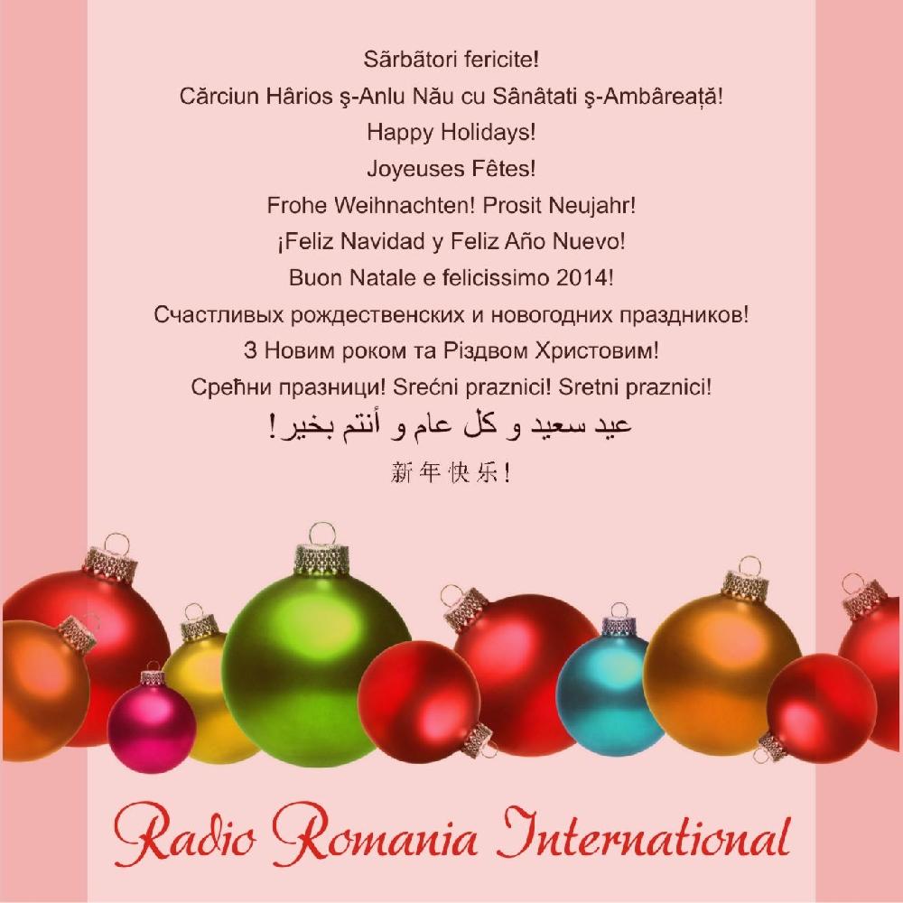 Villancico Feliz Navidad A Todos.Feliz Navidad Villancicos Rumanos Interpretados Por El Coro