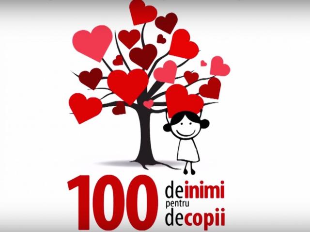 100 сердець для 100 дітей