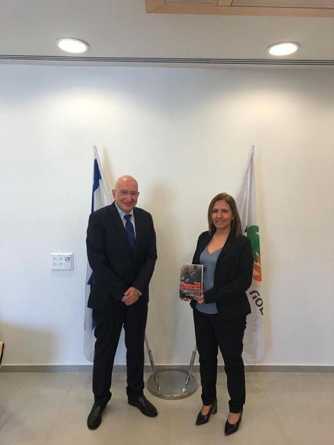 פגישת שגריר רומניה בישראל עם השר לאיכות הסביבה