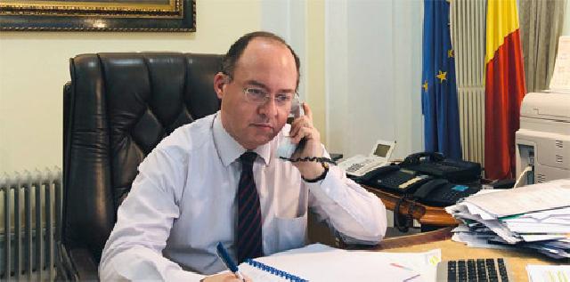 שיחת טלפון בין שר החוץ הרומני לבין שר החוץ הפלסטיני