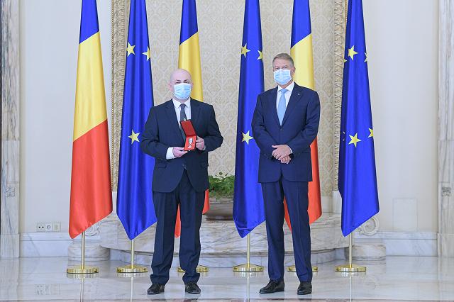 סגן נשיא סילביו וקסלר קיבל אות המסדר הלאומי בדרגת אביר