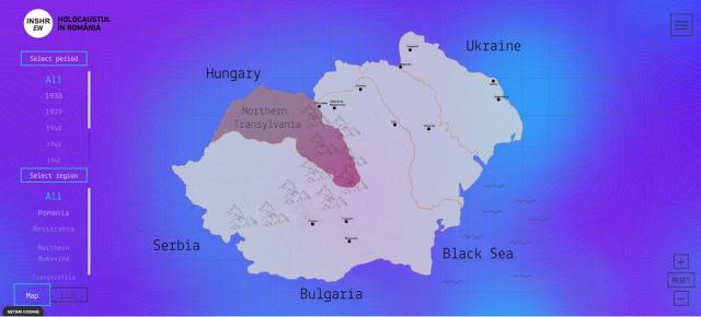 פלטפורמה דיגיטלית  למידע על השואה ברומניה