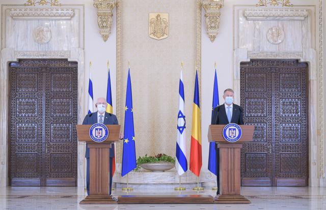 ביקור נשיא ישראל ראובן רבלין ברומניה