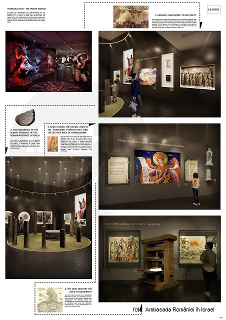 על המוזיאון הלאומי להיסטוריה יהודית ושואה ברומניה