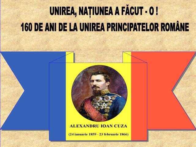 160 anni dall'unificazione dei principati romeni