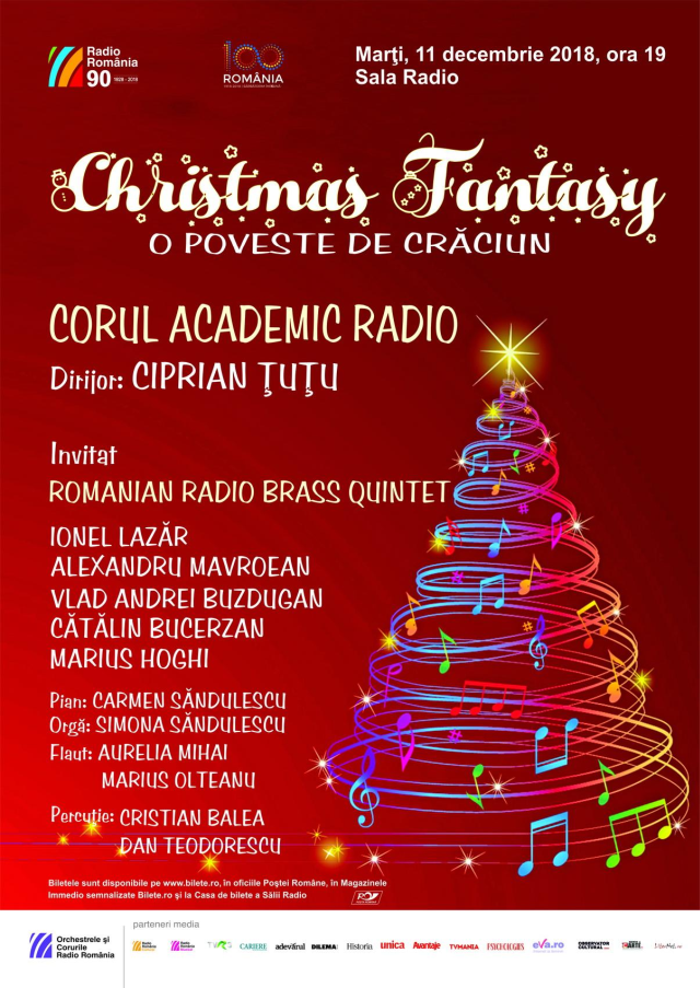 christmas fantasy – concert de crăciun al corului academic radio