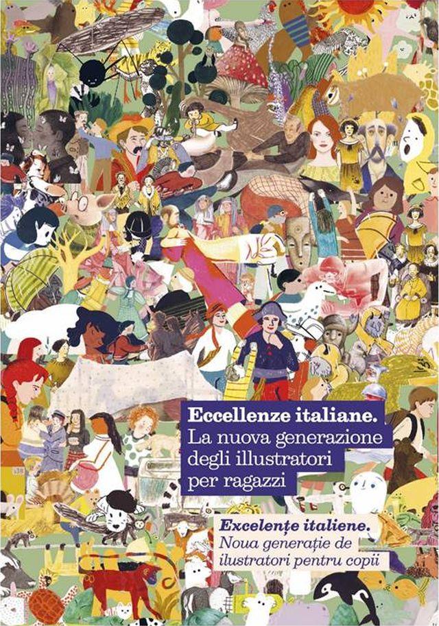 eccellenze italiane - la nuova generazione degli illustratori per ragazzi, in mostra a bucarest