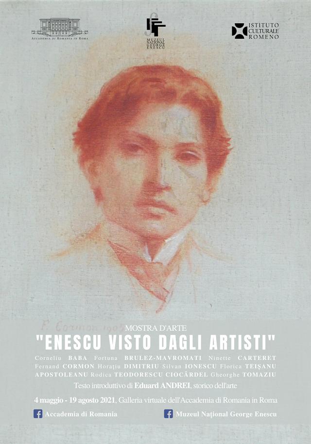 enescu visto dagli artisti, mostra virtuale all'accademia di romania in roma