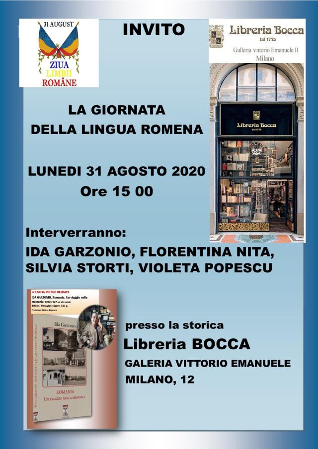 la giornata della lingua romena celebrata alla libreria bocca di milano