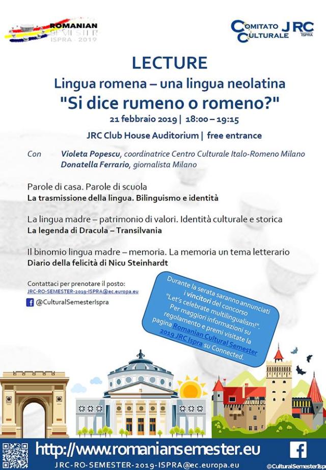 giornata lingua materna, conferenza ispra: si dice rumeno o romeno?
