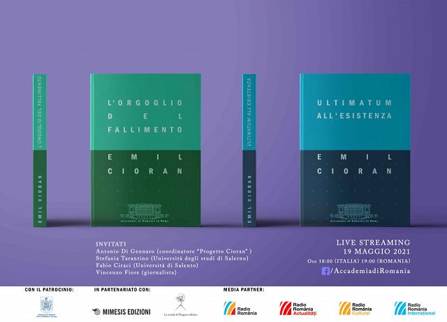 mercoledì letterario dedicato al filofoso e scrittore emil cioran all'accademia di romania in roma