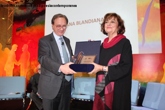 premio internazionale fondazione terzo pilastro alla poetessa romena ana blandiana