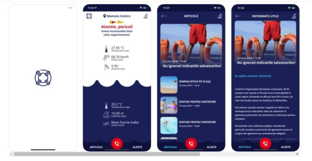 האפליקציה sea status