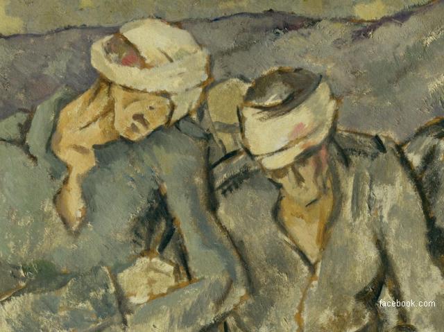 Художники на Первой мировой войне