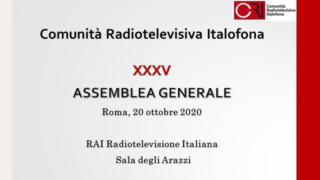assemblea generale cri 2020, radio romania internazionale nel nuovo comitato direttivo