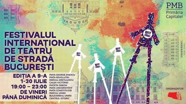 il festival internazionale di teatro di strada bucarest