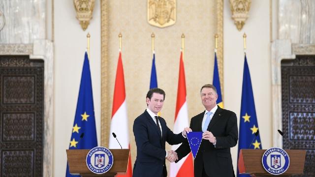 المستشار النمساوي في زيارة إلى بوخارست