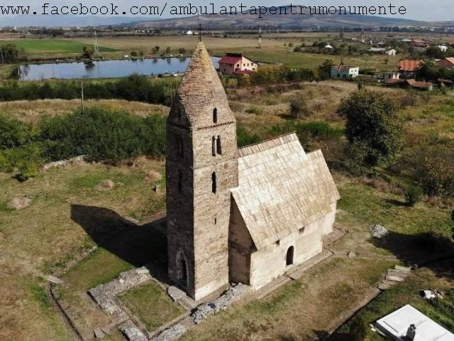 Кам'яна церква Стрей, релігійний пам'ятник xiv ст.