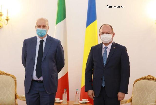 mae: visita di commiato dell'ambasciatore d'italia a bucarest, marco giungi