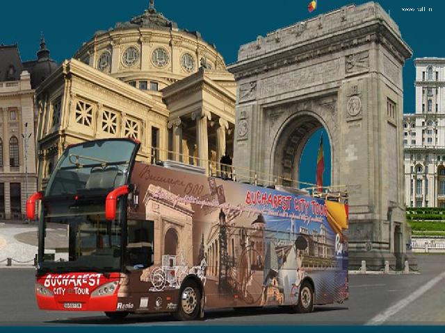 אוטובוס תיירים בוקרשט סיטי טור
