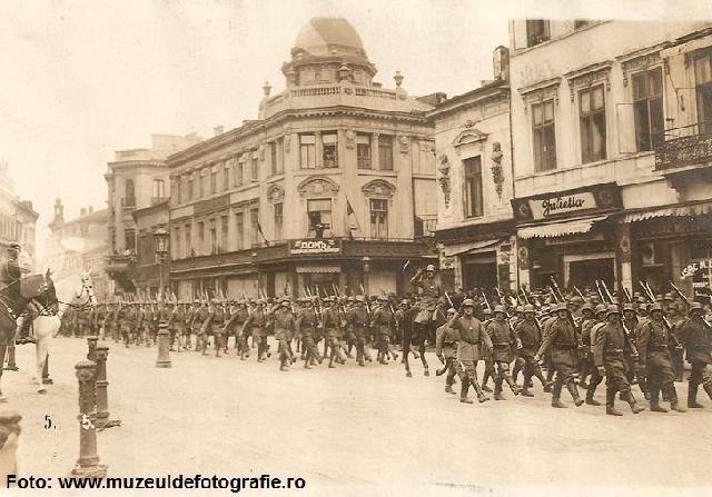 2018年4月26日:布加勒斯特1916年至1918年间的占领