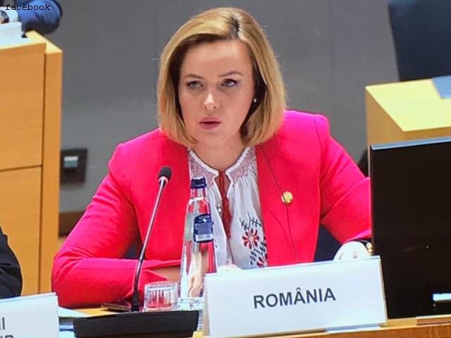 romania's interior minister, in brussels