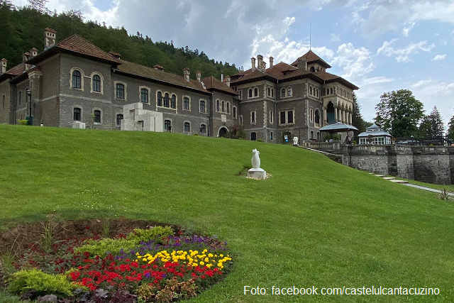 Замок Кантакузино (Фото: facebook.com/castelulcantacuzino)