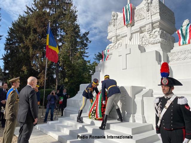 4 novembre: cerimonia al cimitero militare italiano di bucarest