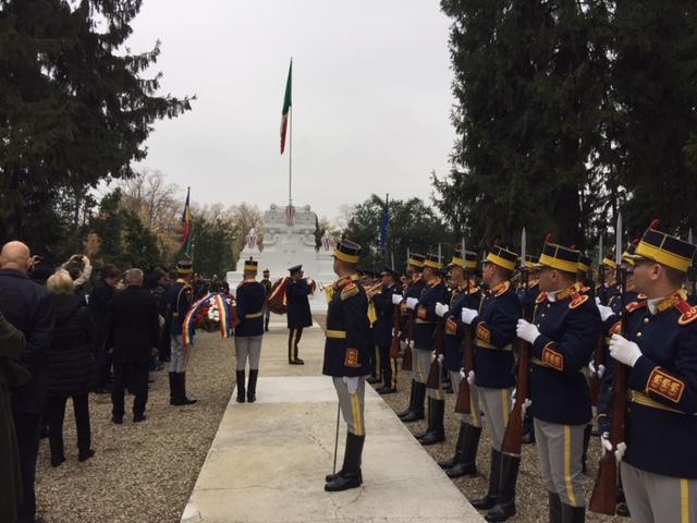 giornata unità e forze armate: cerimonia al cimitero militare italiano di bucarest