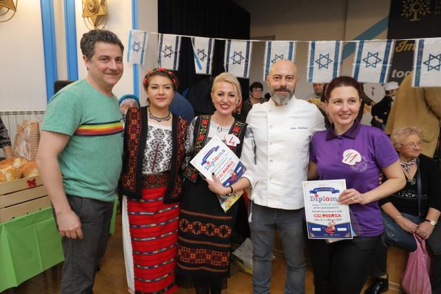 המרכז הקהילתי היהודי (jcc) בוקרשט אירח את המהדורה ה -11 של פסטיבל המרק