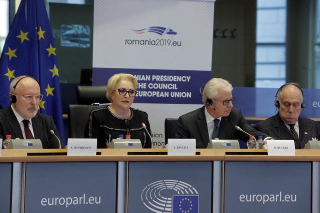 ראשת ממשלת רומניה בכנס על מאבק נגד אנטישמיות