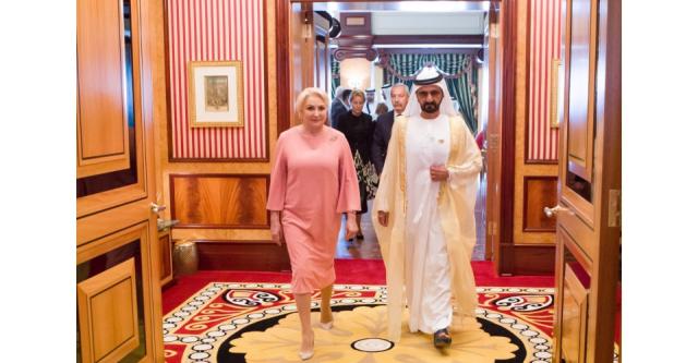 زيارة رئيسة الوزراء الرومانية إلى دولة الإمارات العربية المتحدة