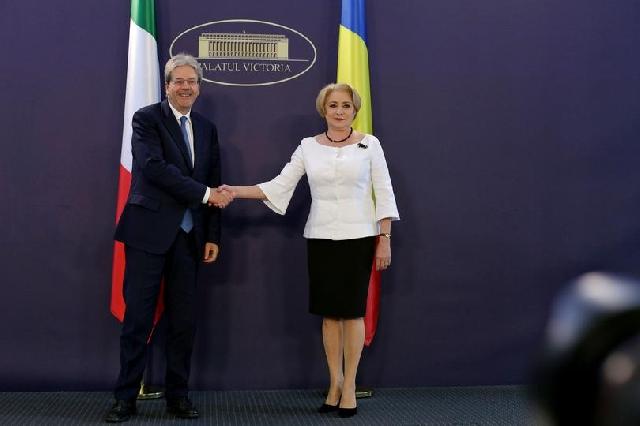 premierulu-italian-la-bucuresti