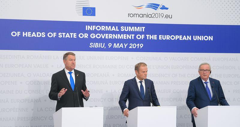 2019年5月19日:锡比乌欧盟峰会结论