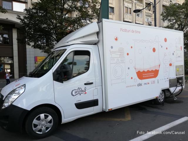 mobilni tuš za beskućnike