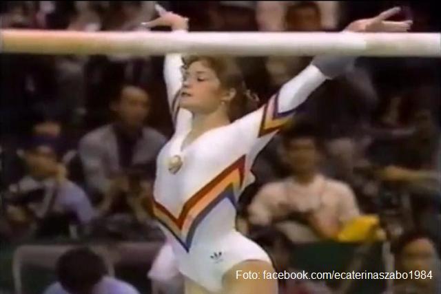 Румыния на Олимпийских играх - гимнастка Екатерина Сабо