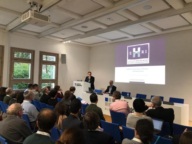 """מכון """"אלי וויזל"""" במפגש העבודה של הפרויקט תשתית המחקר האירופית של השואה"""