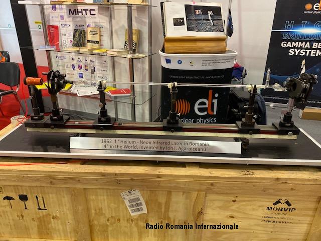 il più potente laser al mondo, presentato alla fiera gaudeamus radio romania