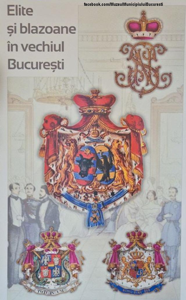 stemmi araldici della nobiltà romena, in mostra al palazzo suţu di bucarest