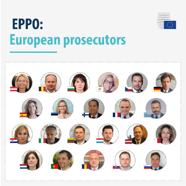 2020年9月29日:欧盟检察官宣誓