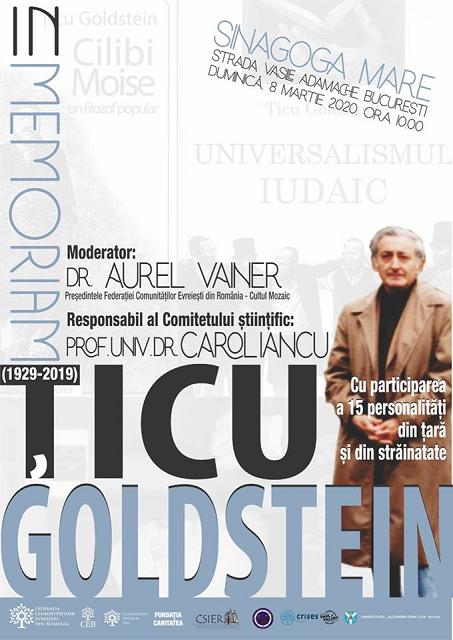 אירוע לזכרו של ציקו גולדשטיין