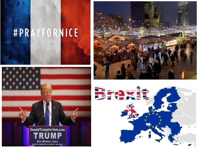 أهم الأحداث الخارجية في عام 2017
